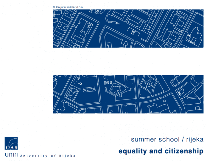 Equality and Citizenship Summer School