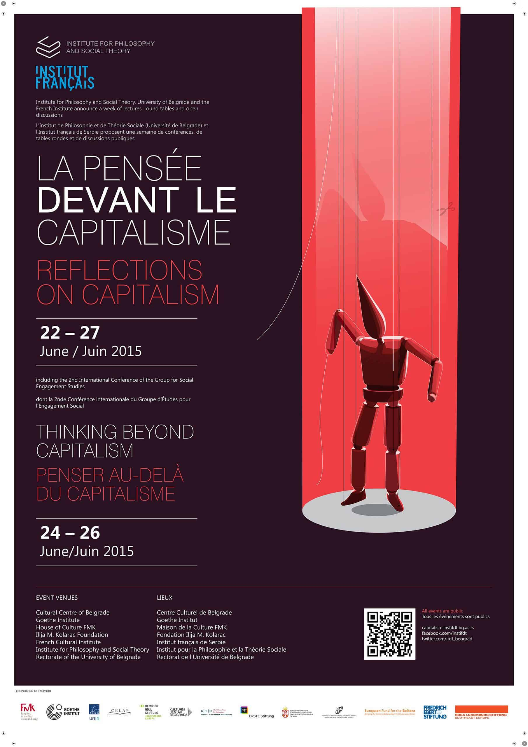 "CAS SEE Fellows at the conference ""Thinking beyond Capitalism"""
