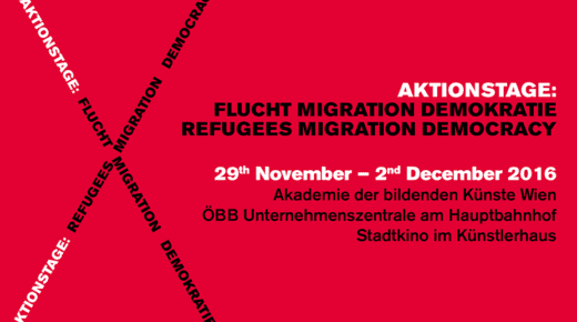 AKTIONSTAGE: REFUGEES – MIGRATION – DEMOCRACY
