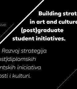 Building strategies in art and culture (post)graduate student initiatives