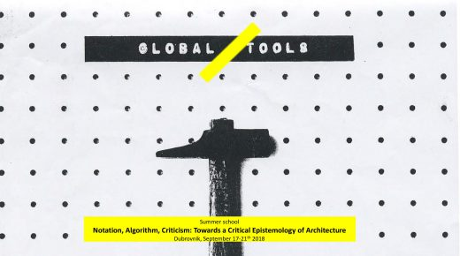 Notation, Algorithm, Criticism: Towards a Critical Epistemology of Architecture