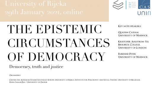 International Conference: The Epistemic Circumstances of Democracy