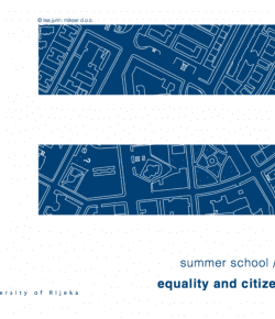 """Program of the """"Equality and Citizenship 2021"""" Summer School"""