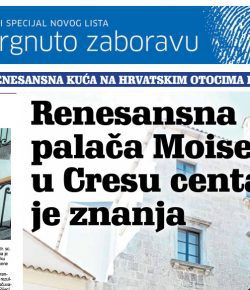 The Moise Palace – From Oblivion to an Incubator of Knowledges and Skills